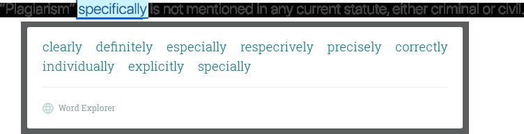 Contextual Thesaurus